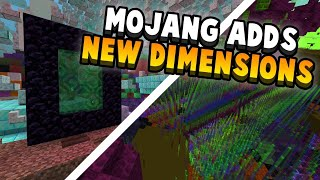 Minecraft Just Added These NEW Dimensions!!!