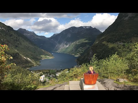 Travel Norway: Drive through Geirangerfjord