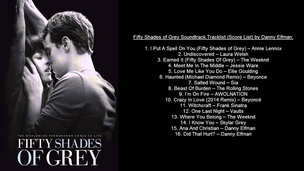 50 shadows of grey soundtrack