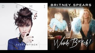 Bitch Attack - Britney Spears and Demi Lovato (Mashup) Mp3