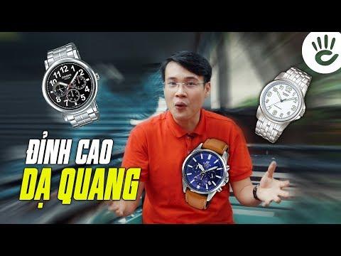 Top 3 Mẫu Đồng Hồ Casio Giá Rẻ Có Dạ Quang Rực Sáng Nhất