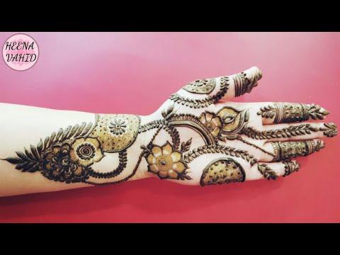 Dushera Special New Unique Mehndi Design For Hands 2018 Heena