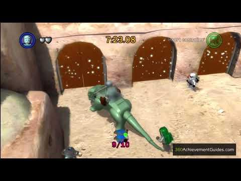 LEGO Star Wars: TCS - Blue Minikit Guide - Episode IV: Mos Eisley Spaceport