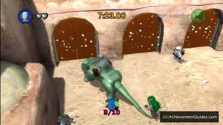 LEGO Star Wars: TCS - Blue Minikit Guide - Episode IV: Mos Eisley Spaceport