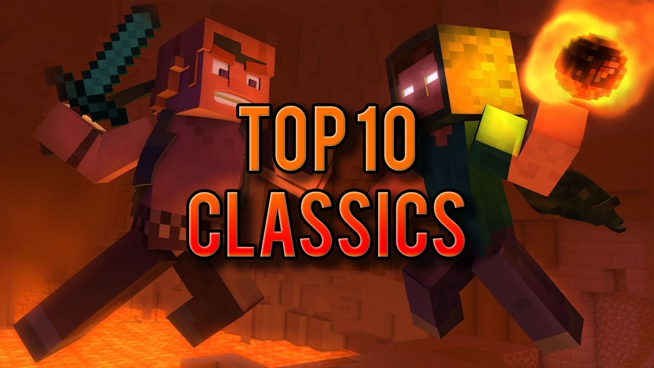 ♪ Top 12 Classic Minecraft Songs, Parodies and Music Videos ♪