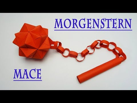 How to Make a Paper Mace Weapon | Morgenstern