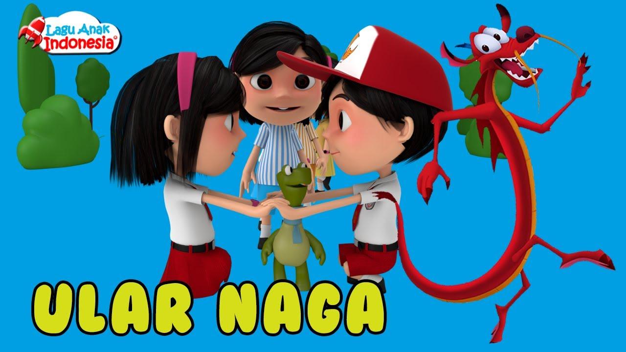 Lagu Anak Anak Ular Naga Panjangnya Lagu Anak Indonesia Nursery Rhymes أغنية للأطفال