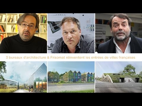 3 architects and Frisomat reinvented cities in France - steel buildings