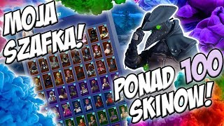 🔥 MY FORTNITE CUPBOARD! 😱 MORE THAN 100 SKINS!!! 🌟 SPECIAL FOR 100 SUBÓW 🌟