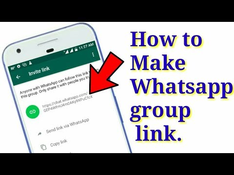 Whatsapp group का Link कैसे निकलते है । How do the