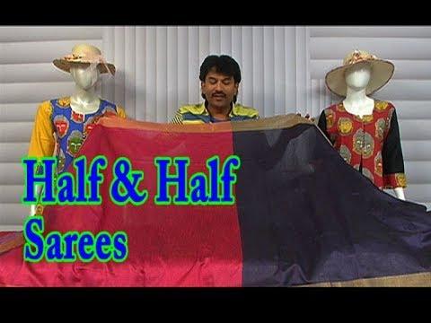 Half & Half Sarees / Silk Fabric / Latest Collections