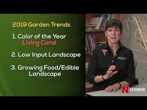 Landscape Lesson Garden Trends 2019