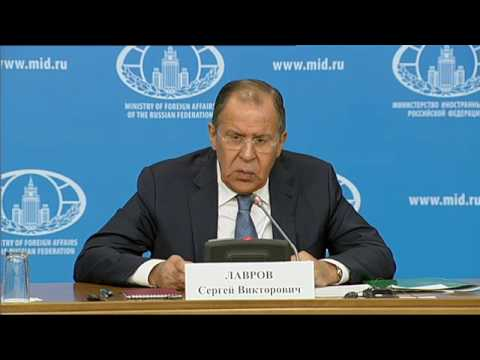Sergey Lavrov's annual Press Conference