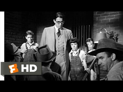 To Kill a Mockingbird 310 Movie   The Children Save Atticus 1962 HD