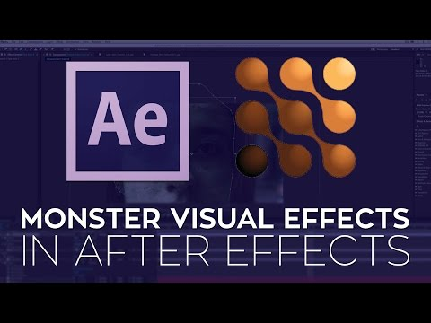 Create Monster Visual Effects in After Effects with the Monster Toolkit and Mocha AE