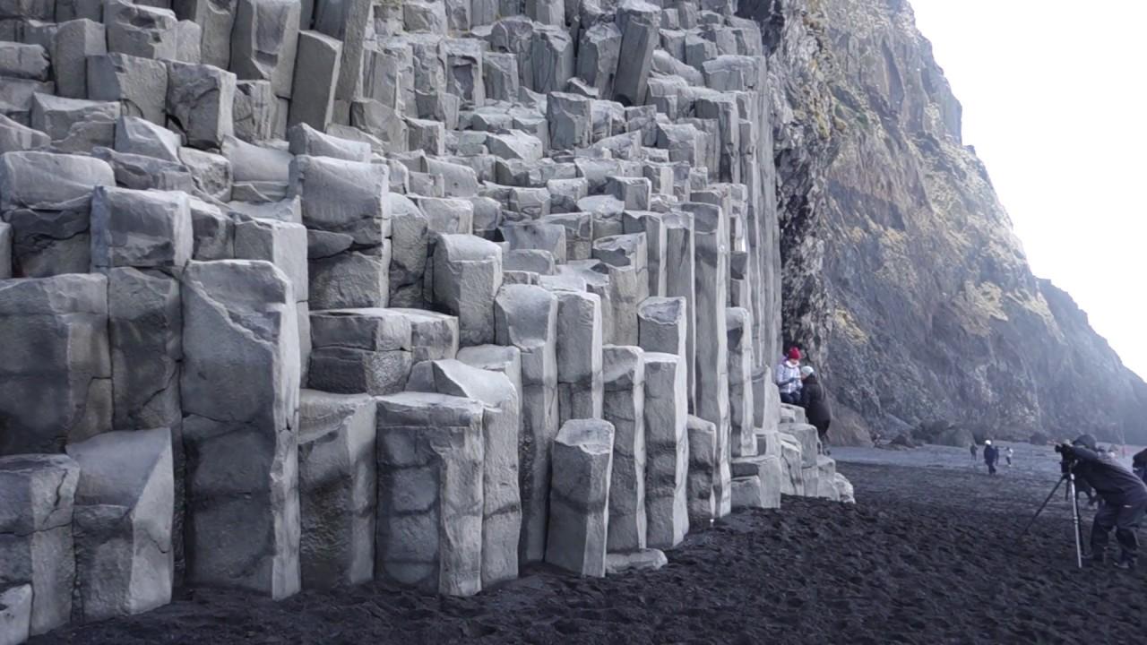 Reynisfjara Black Sand Beach Near Vik Iceland