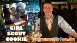 How To Make The Girl Scout Cookie Shot (with Bailey's Irish Cream)