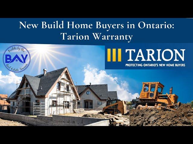 New Build Home Buyers in Ontario: Tarion Warranty