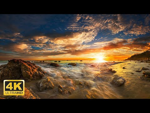 5 Hour 4K Amazing Aerial Views of the Earth with Relaxation Music