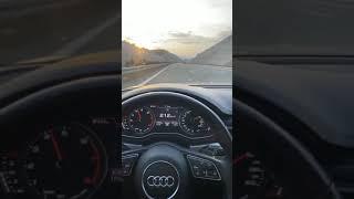 Audi gündüz hız snap