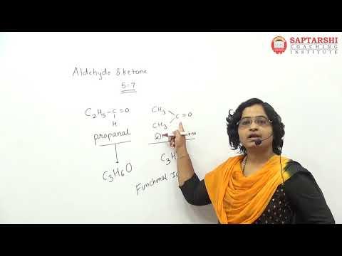 Aldehydes , Ketones And Carboxylic Acids Std 12 , HSC Maharashtra Board, NEET,JEE,CETLect 1