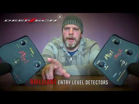 DeepTech Mini and Mini Max Metal Detectors