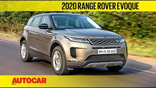 EXCLUSIVE: 2020 Range Rover Evoque India Review | First Drive | Autocar India