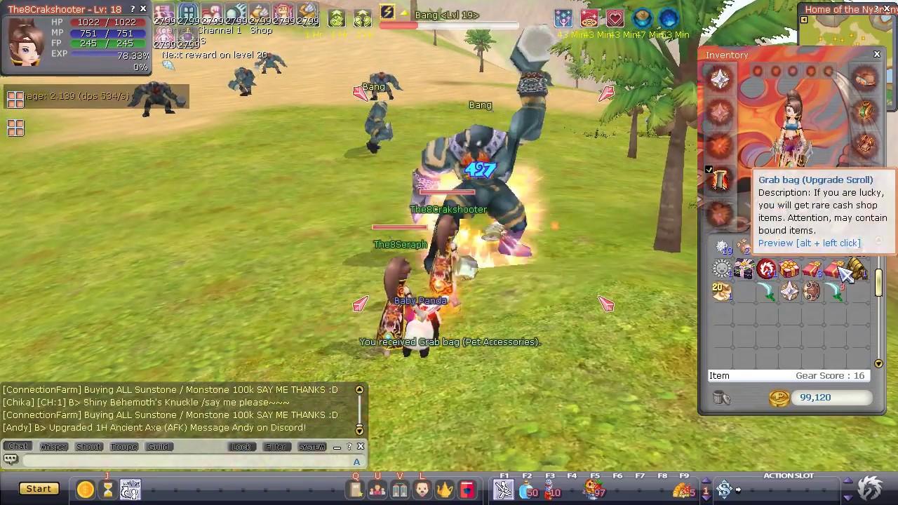 Dragon Crusade Flyff E1 - Harlequin lvl 1-60