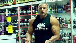 Станислав Линдовер и Михаил Гаманюк отвечают на вопросы в бутике Sport Nutrition