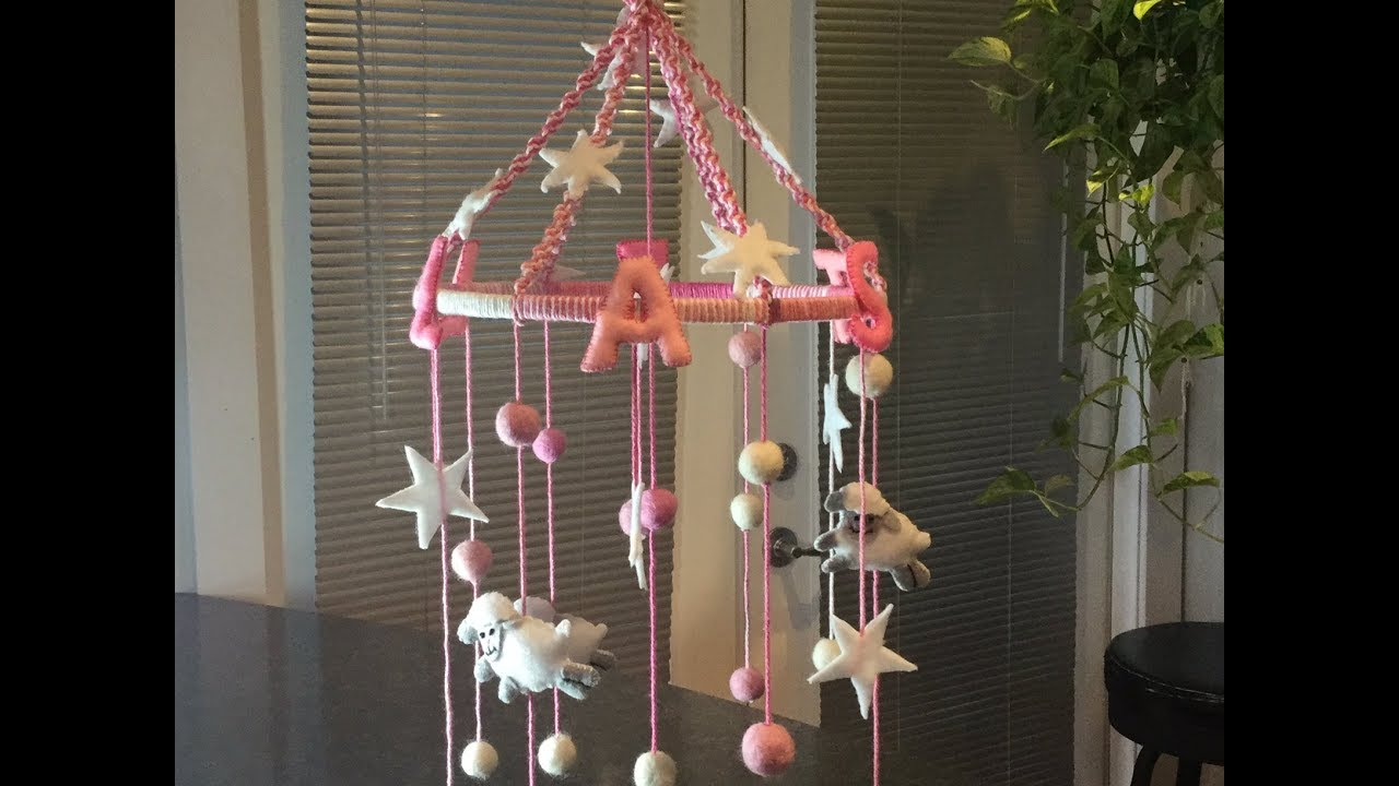 PERSONALIZED BABY MOBILE DIY