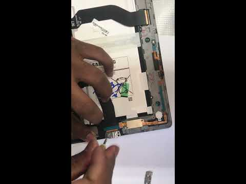 Samsung galaxy tab S model SM-T800 charging port replacement