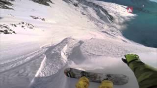 Flo Orley | 3rd Snowboarder Men | FWT15 - Chamonix-Mont-Blanc GoPro run
