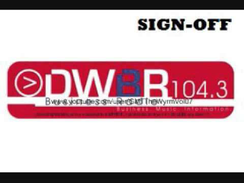 DWBR Business Radio 104.3mhz Manila - Sign-Off