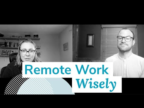 Remote Work, Wisely | Monday Marketing Minute by Oneupweb