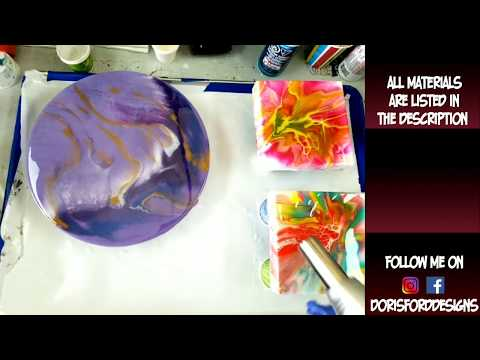 Resin Flood Coats To Finish Your Artwork | Resin For Beginners | Resin Pouring | Resin Tutorial |