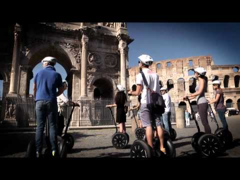 Tour by Segway in Rome -Video