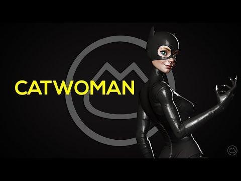Catwoman Sculpt Timelapse