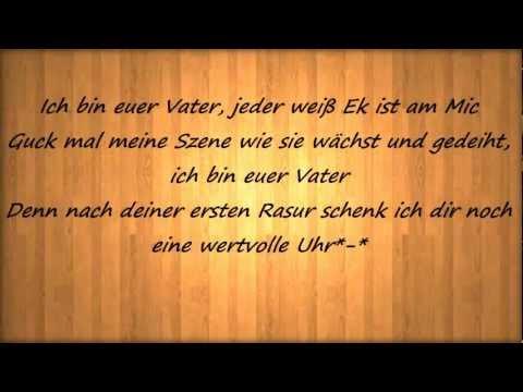 Eko Fresh-Euer Vater (Lyrics) HD
