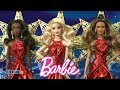 2017 Holiday Barbie Dolls from Mattel