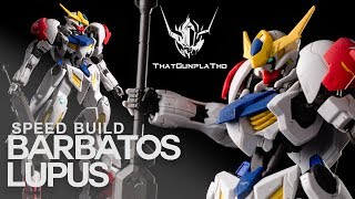 Barbatos Lupus | HG IBO | Straight Build | Fast Build | Speed Build | Quick Build | Gundam | Gunpla