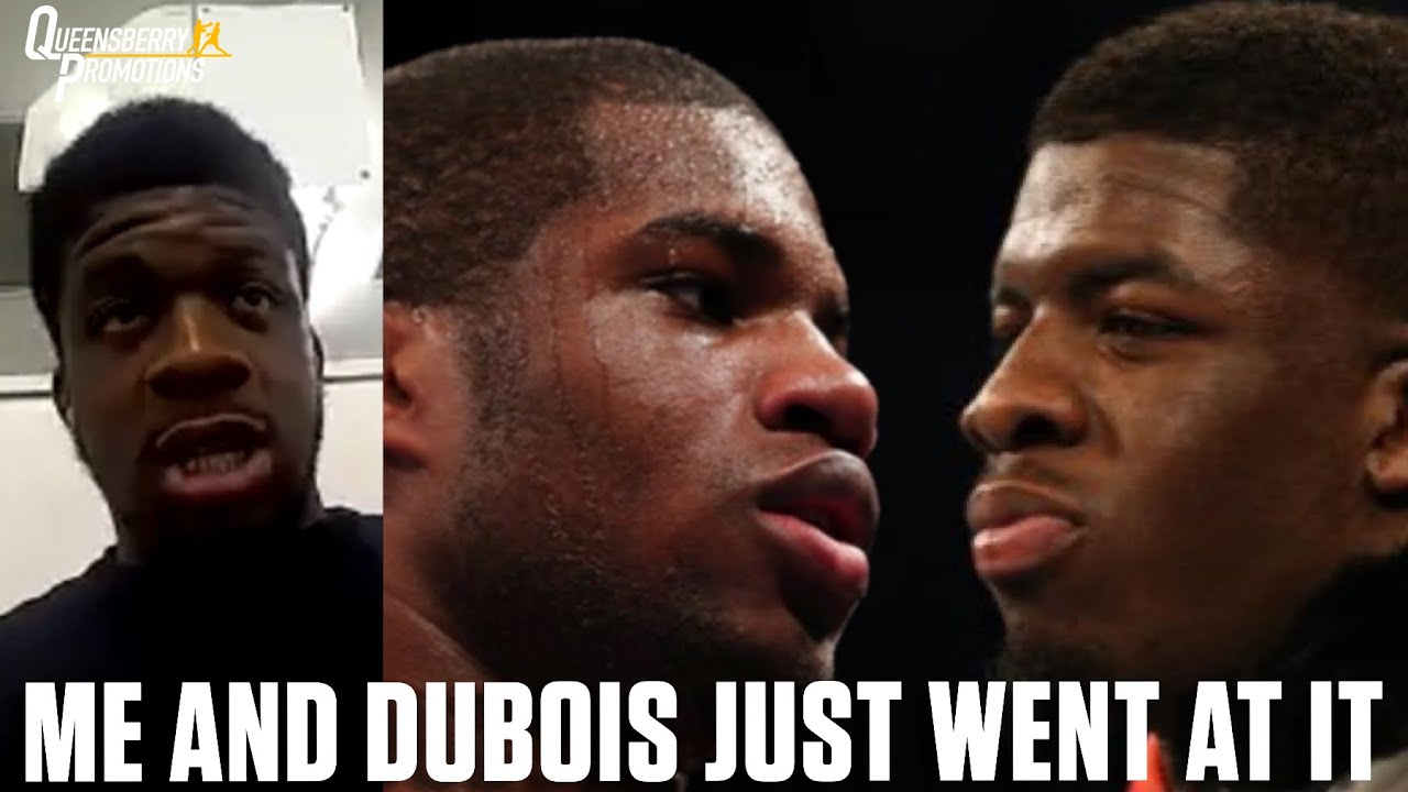 """""""WE BOTH TRIED TO MAKE A STATEMENT AND WENT AT IT!"""" 