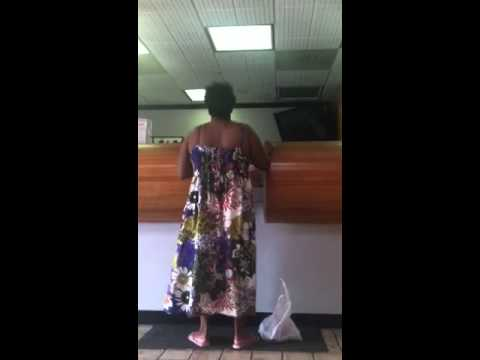 Crazy lady at Ace Rental in Tampa