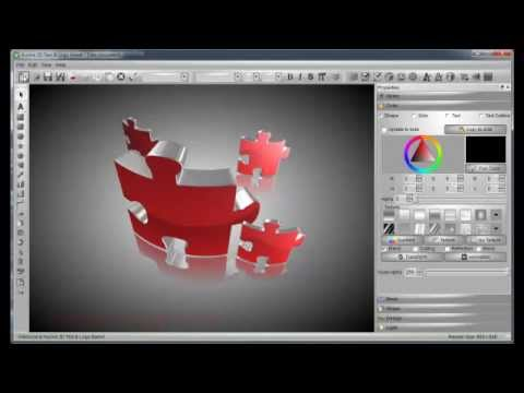 Create 3D Logo with Aurora 3D Text & Logo Maker - YouTube