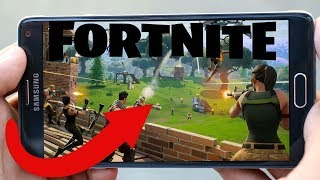 How To Download Fortnite Battle Royale MOBILE On ANDROID Phones and Tablets (FORTNITE MOBILE)
