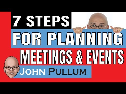 7 Simple Steps For Planning Effective Business Meetings and Events