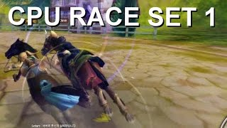 Alicia Online Gameplay {Horse Racing} - Racing Against CPUs [RACE SET 1]