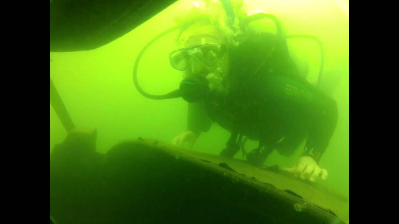 Scuba diving at aurora reservoir colorado youtube xflitez Choice Image