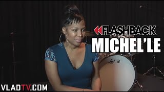 Before Apryl Jones, Michel'le Had a Baby by Dr. Dre & Suge Knight (Flashback)