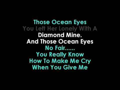 Billie Eilish Ocean Eyes karaoke  | GOLDEN KARAOKE