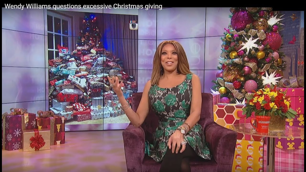 Wendy Williams Questions Excessive Christmas Giving